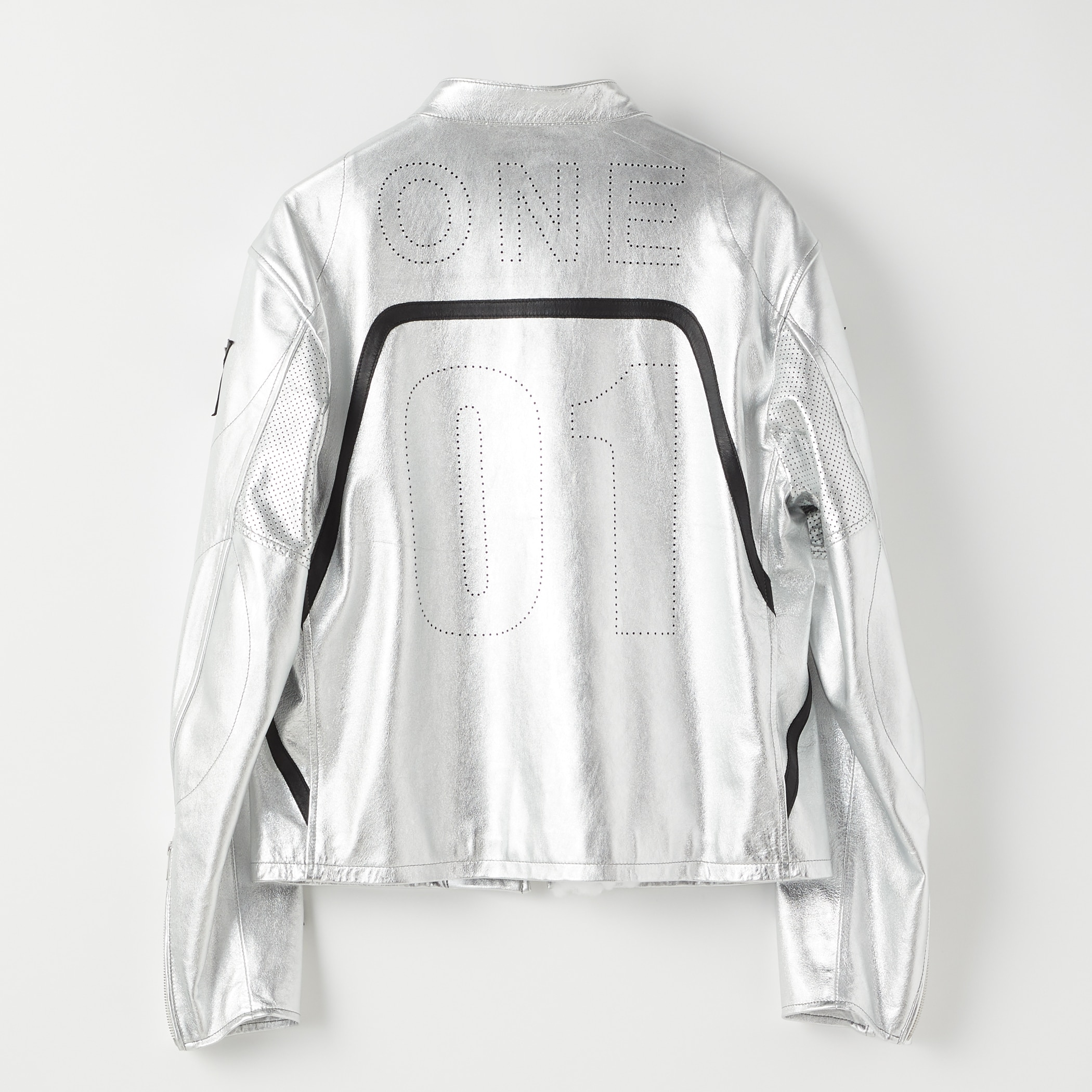 SIGNATURE RACING JACKET 詳細画像 Silver 2