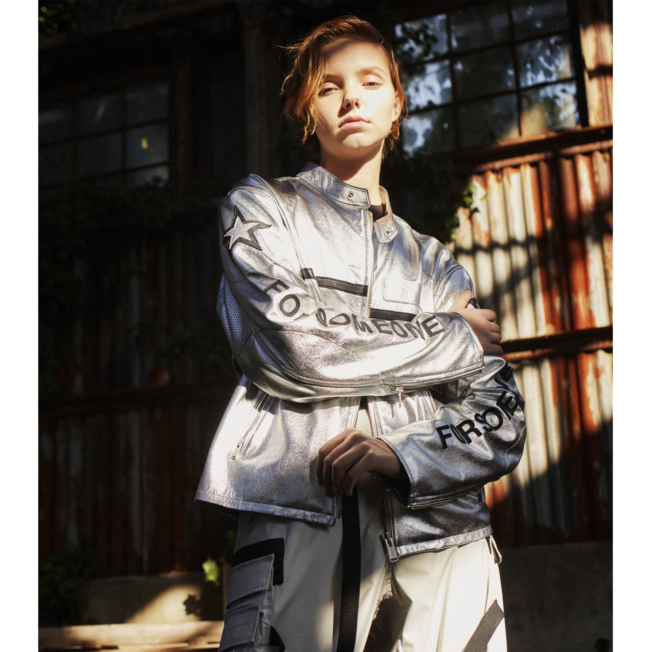 SIGNATURE RACING JACKET 詳細画像 Silver 3