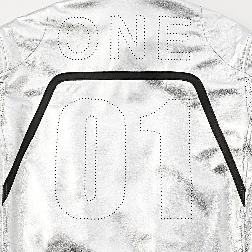 SIGNATURE RACING JACKET 詳細画像 Silver 9