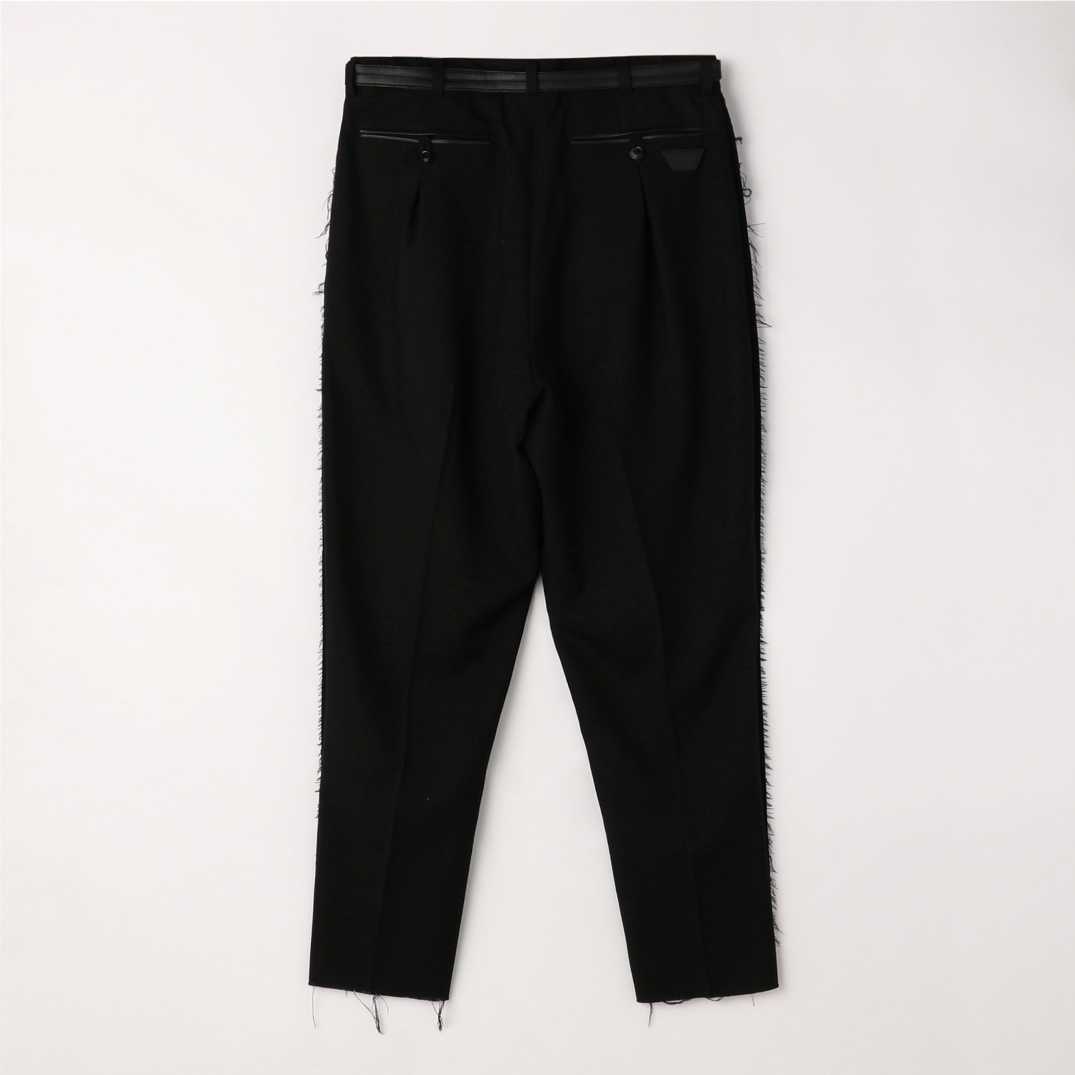 TAILORED TROUSERS 詳細画像 Black 1