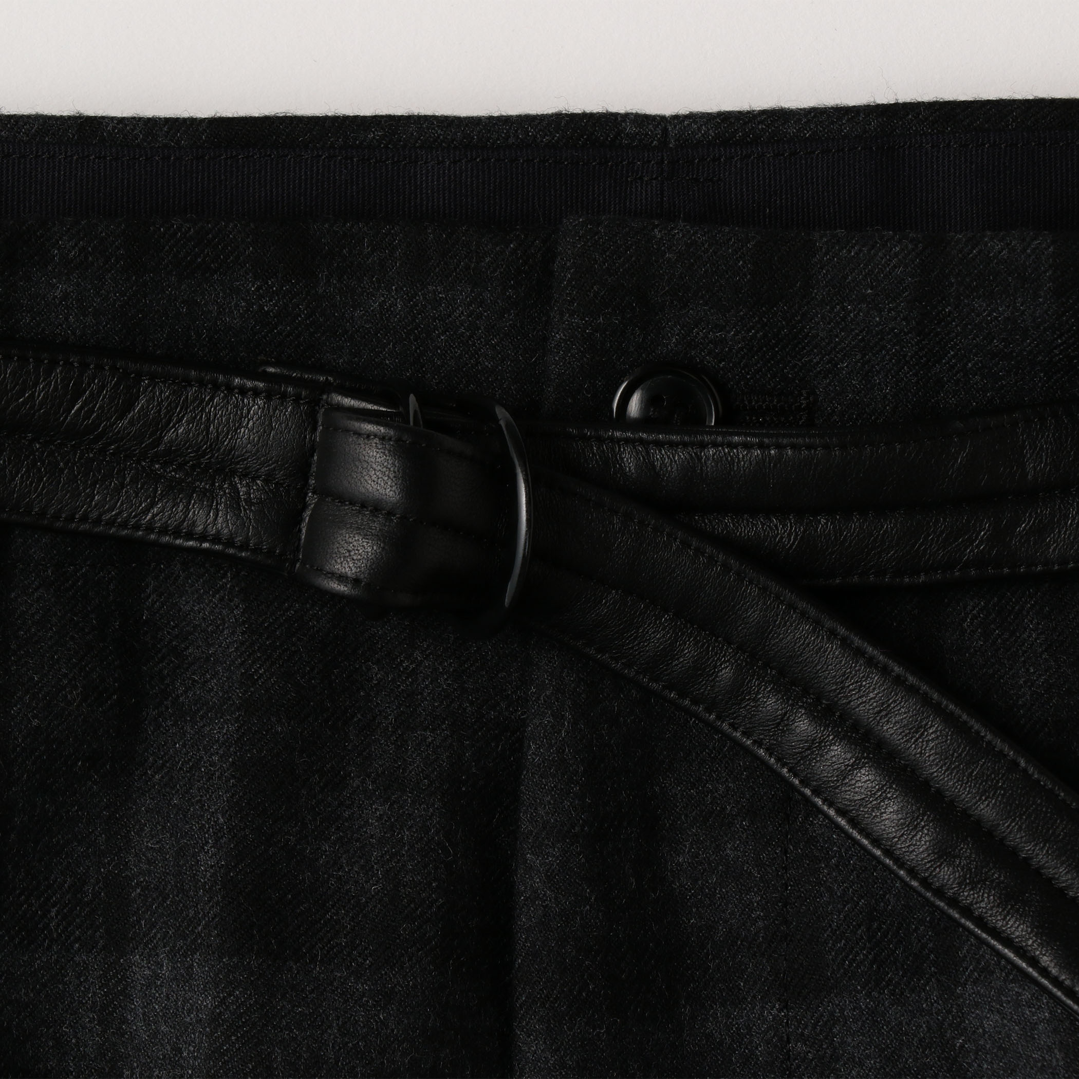 TAILORED TROUSERS 詳細画像 Black 7