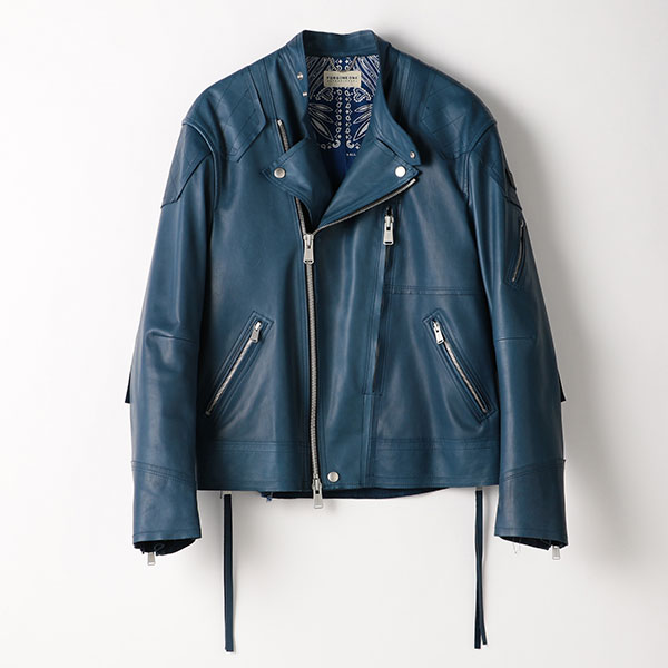 MOTO JACKET COW LEATHER