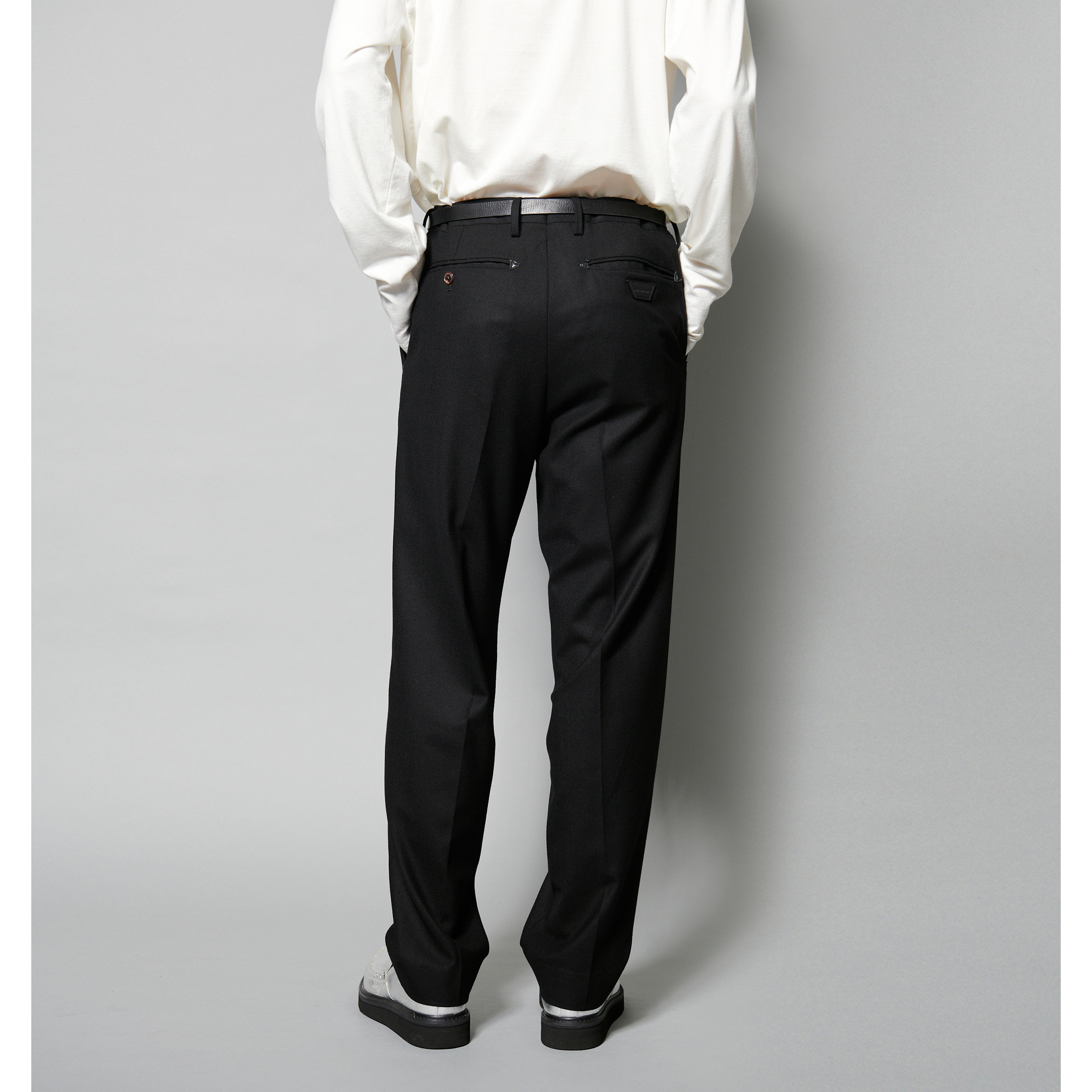 ADAM SUIT SOLID TROUSERS 詳細画像 Brown 3