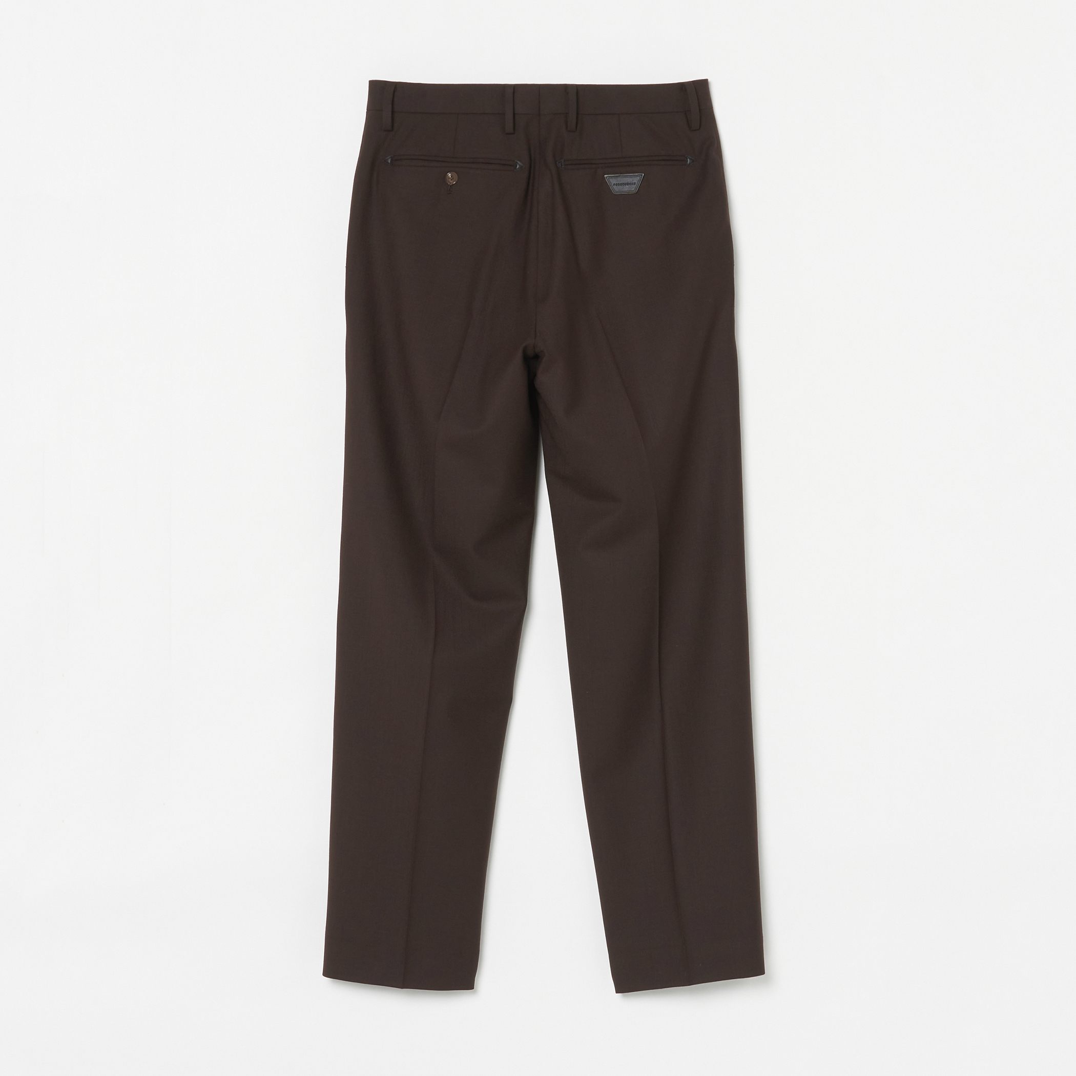 ADAM SUIT SOLID TROUSERS 詳細画像 Brown 8