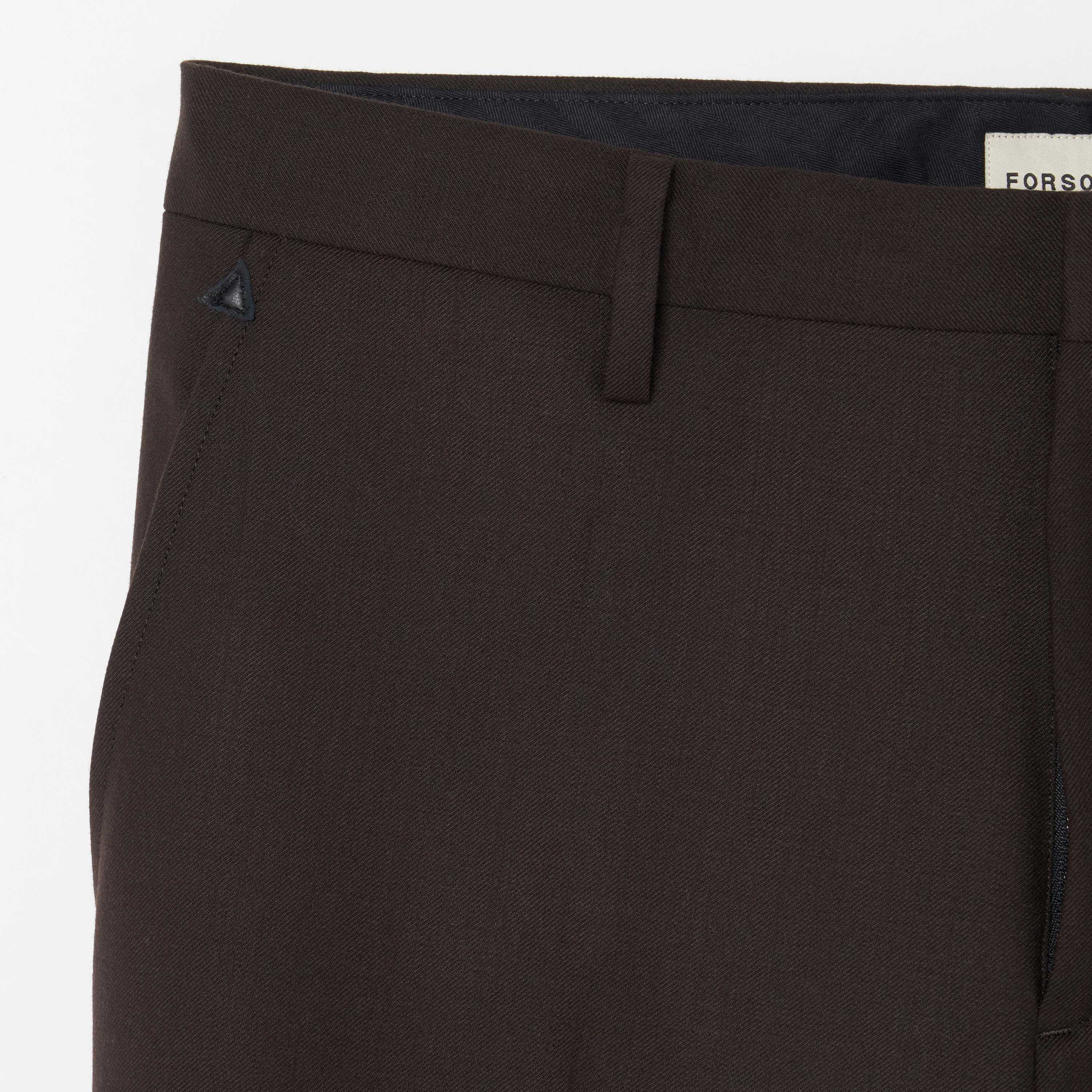 ADAM SUIT SOLID TROUSERS 詳細画像 Brown 9