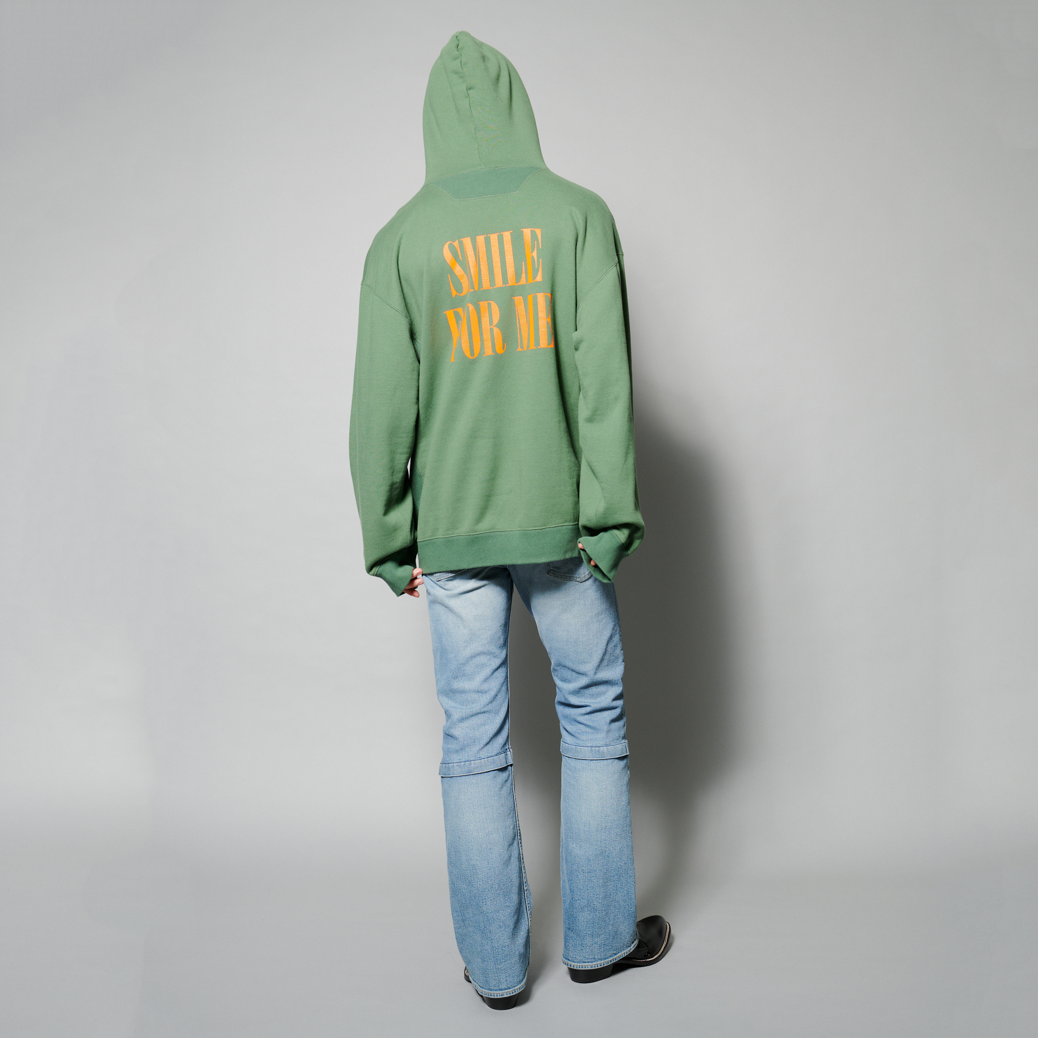 SMILE HOODIE 詳細画像 Green 4