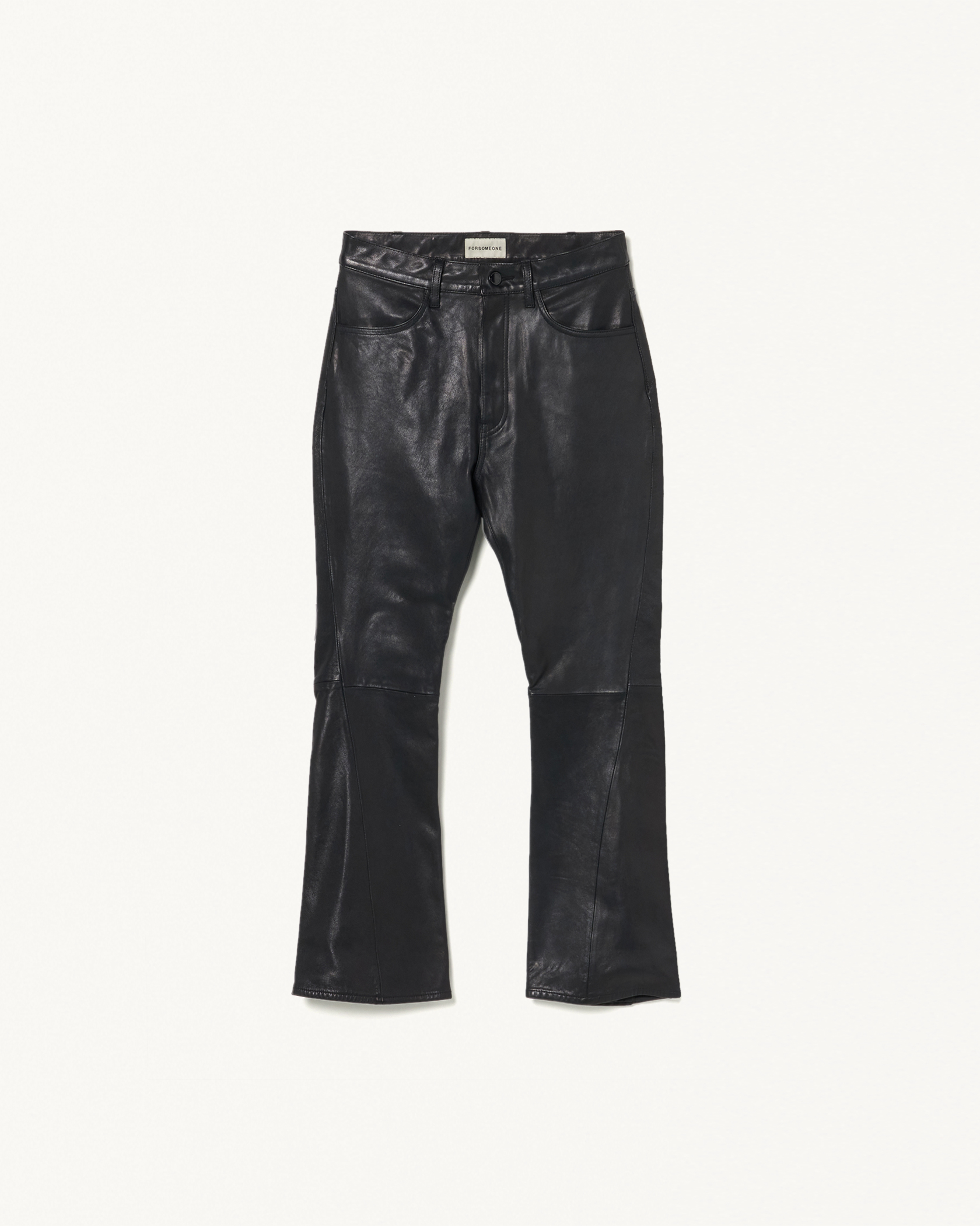#146 LEATHER TROUSERS 詳細画像 Black 1