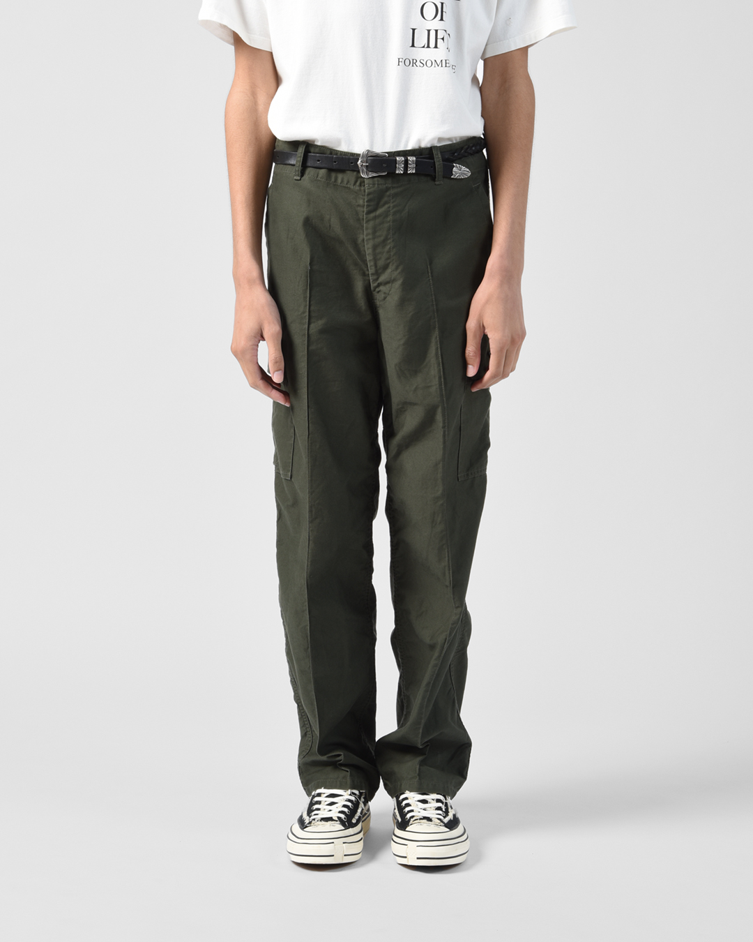 CARGO TROUSERS 詳細画像 Olive 8
