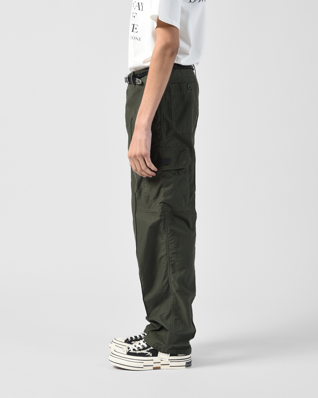 CARGO TROUSERS 詳細画像 Olive 9