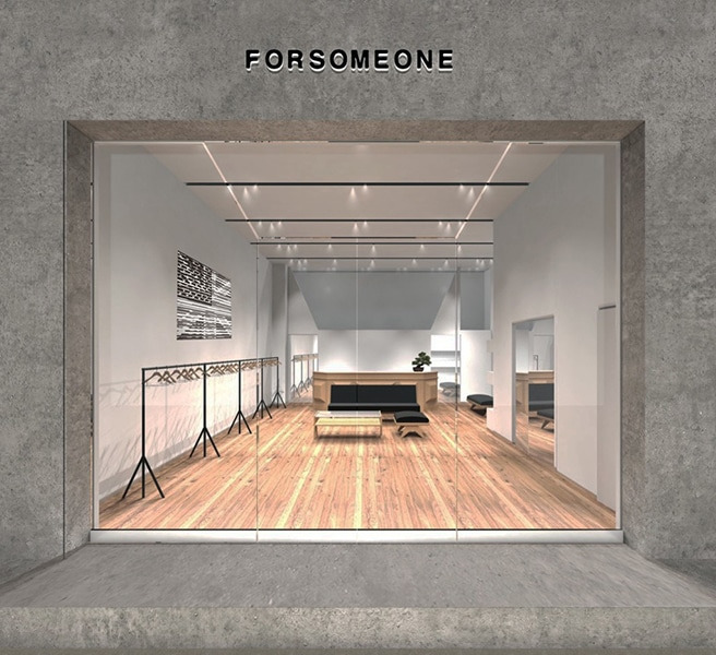 FORSOMEONE FLAGSHIP STORE grand-open